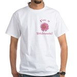 Daisy Bridesmaid White T-Shirt