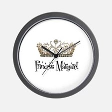 Princess Margaret Wall Clock