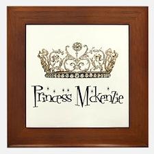 Princess Mckenzie Framed Tile