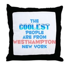 Coolest: Westhampton, NY Throw Pillow