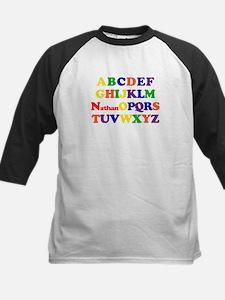 Nathan - Alphabet Kids Baseball Jersey