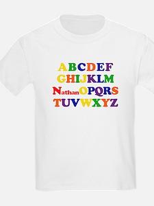 Nathan - Alphabet T-Shirt