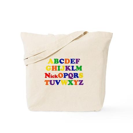 Nick - Alphabet Tote Bag