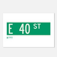 40th Street in NY Postcards (Package of 8)