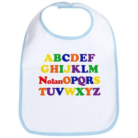 Nolan - Alphabet Bib