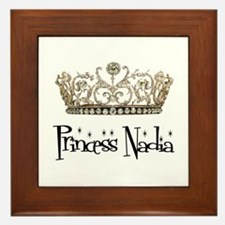Princess Nadia Framed Tile