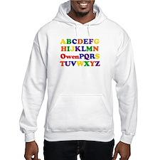 Owen - Alphabet Hoodie