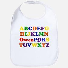 Owen - Alphabet Bib
