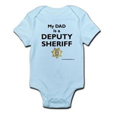 """My Dad Is A Deputy Sheriff"" Infant Body"