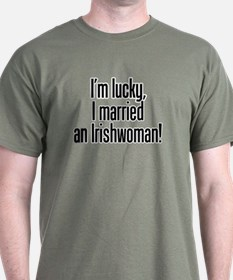 Married an Irishwoman T-Shirt