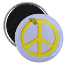 Peace Frog Magnet