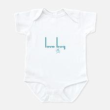Love Bug in Pink Designs Infant Bodysuit