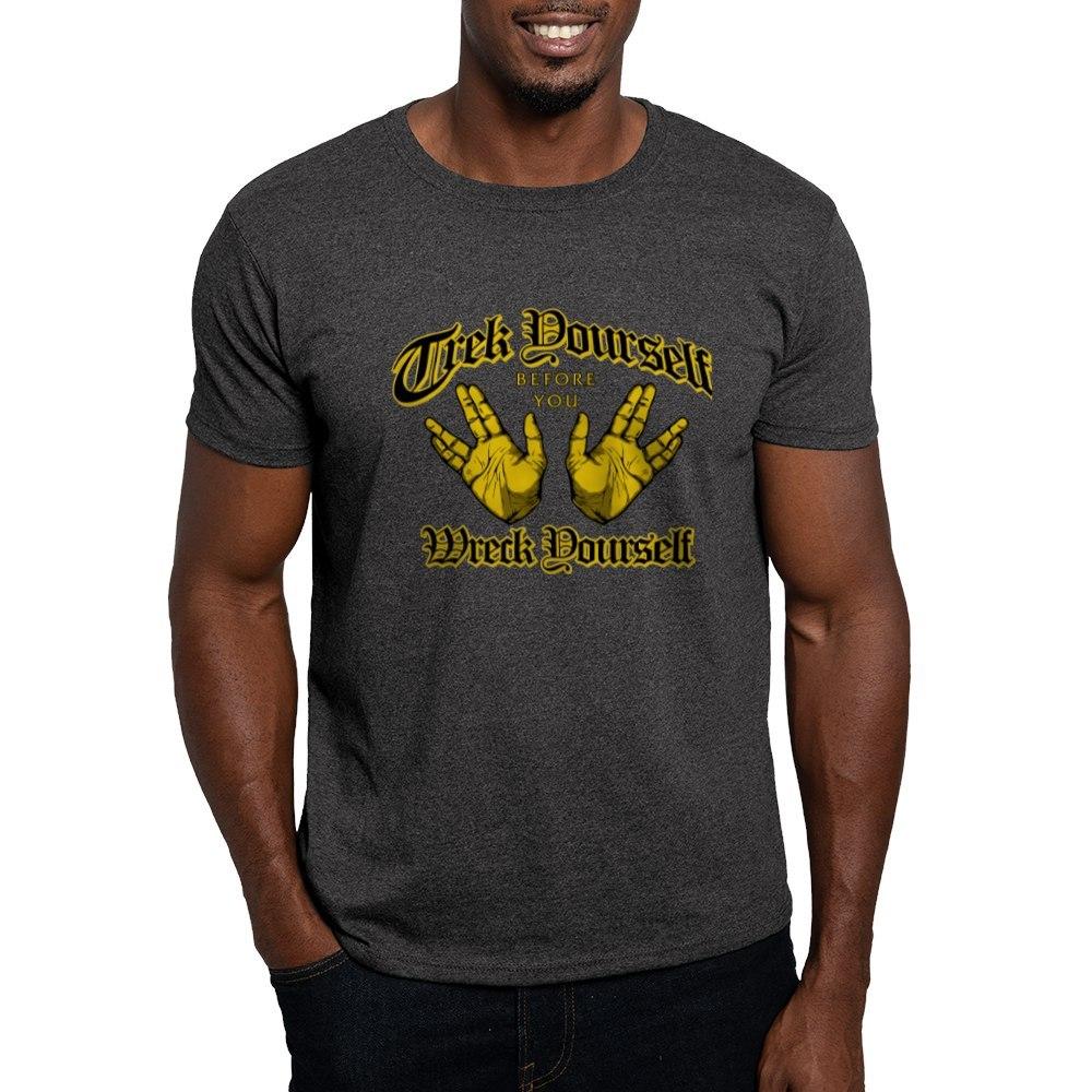 CafePress Trek Before You Wreck Yourself Dark T Shirt Cotton T-Shirt 223266191