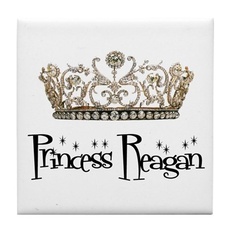 Princess Reagan Tile Coaster