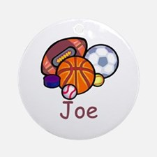 Joe Ornament (Round)