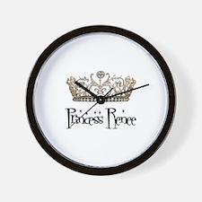 Princess Renee Wall Clock