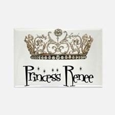 Princess Renee Rectangle Magnet