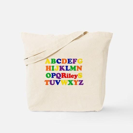Riley - Alphabet Tote Bag