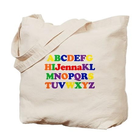 Jenna - Alphabet Tote Bag