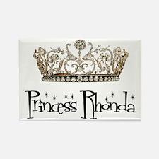 Princess Rhonda Rectangle Magnet