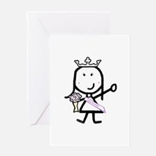 Girl & Pageant Greeting Card