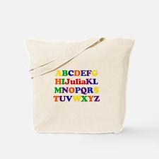 Julia - Alphabet Tote Bag