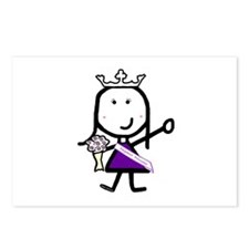 Pageant - Princess Postcards (Package of 8)