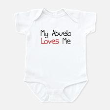 My Abuela Loves Me Infant Bodysuit