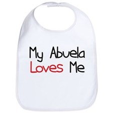 My Abuela Loves Me Baby Bib