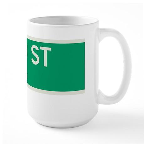 42nd Street in NY Large Mug