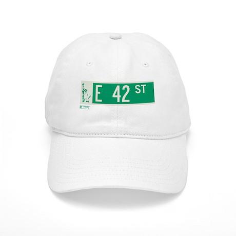42nd Street in NY Cap