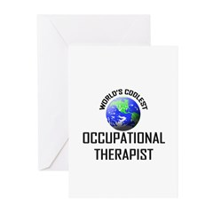 World's Coolest OCCUPATIONAL THERAPIST Greeting Ca