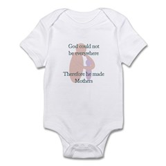 Why God made Mothers Infant Bodysuit