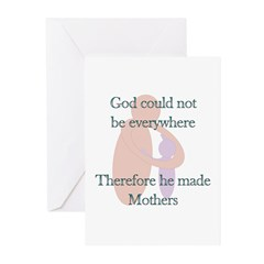 Why God made Mothers Greeting Cards (Pk of 10)