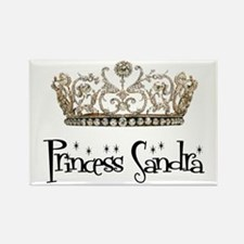 Princess Sandra Rectangle Magnet