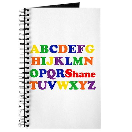 Shane - Alphabet Journal