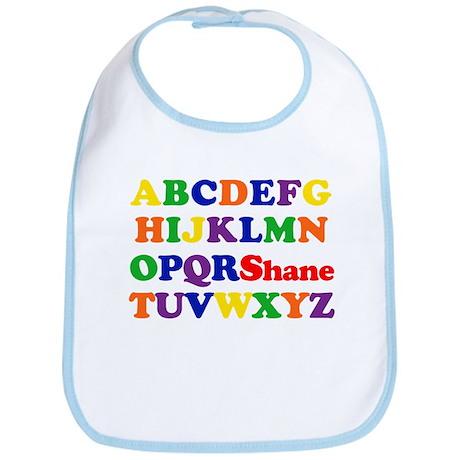 Shane - Alphabet Bib