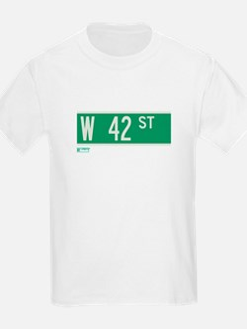 42nd Street in NY T-Shirt