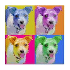 Pop Art Jack Tile Coaster