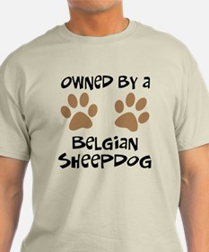 Owned By A Belgian Sheepdog T-Shirt