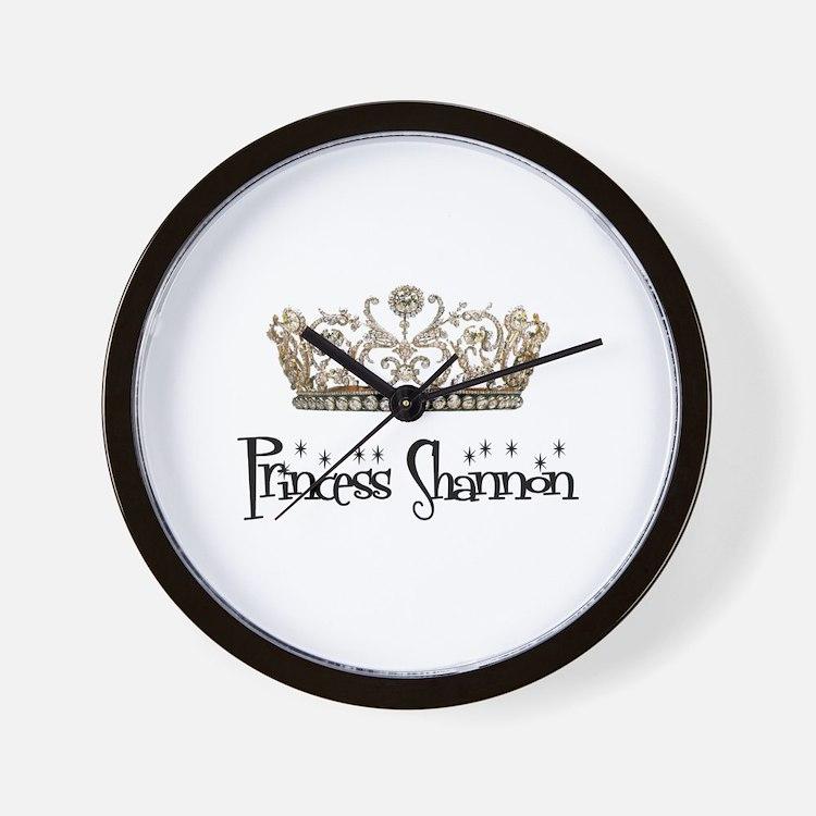 Princess Shannon Wall Clock