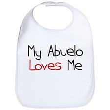 My Abuelo Loves Me Baby Bib