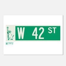 42nd Street in NY Postcards (Package of 8)