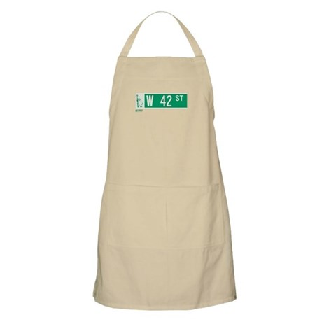42nd Street in NY BBQ Apron
