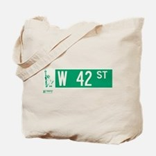42nd Street in NY Tote Bag
