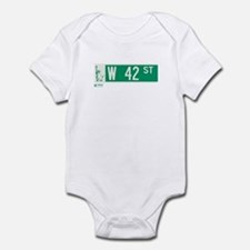 42nd Street in NY Infant Bodysuit