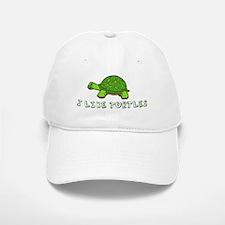 I Like Turtles Baseball Baseball Cap