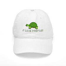 I Like Turtles Baseball Cap