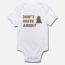 Don't Drive Angry Infant Bodysuit