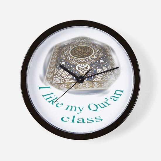 Quran Class Wall Clock